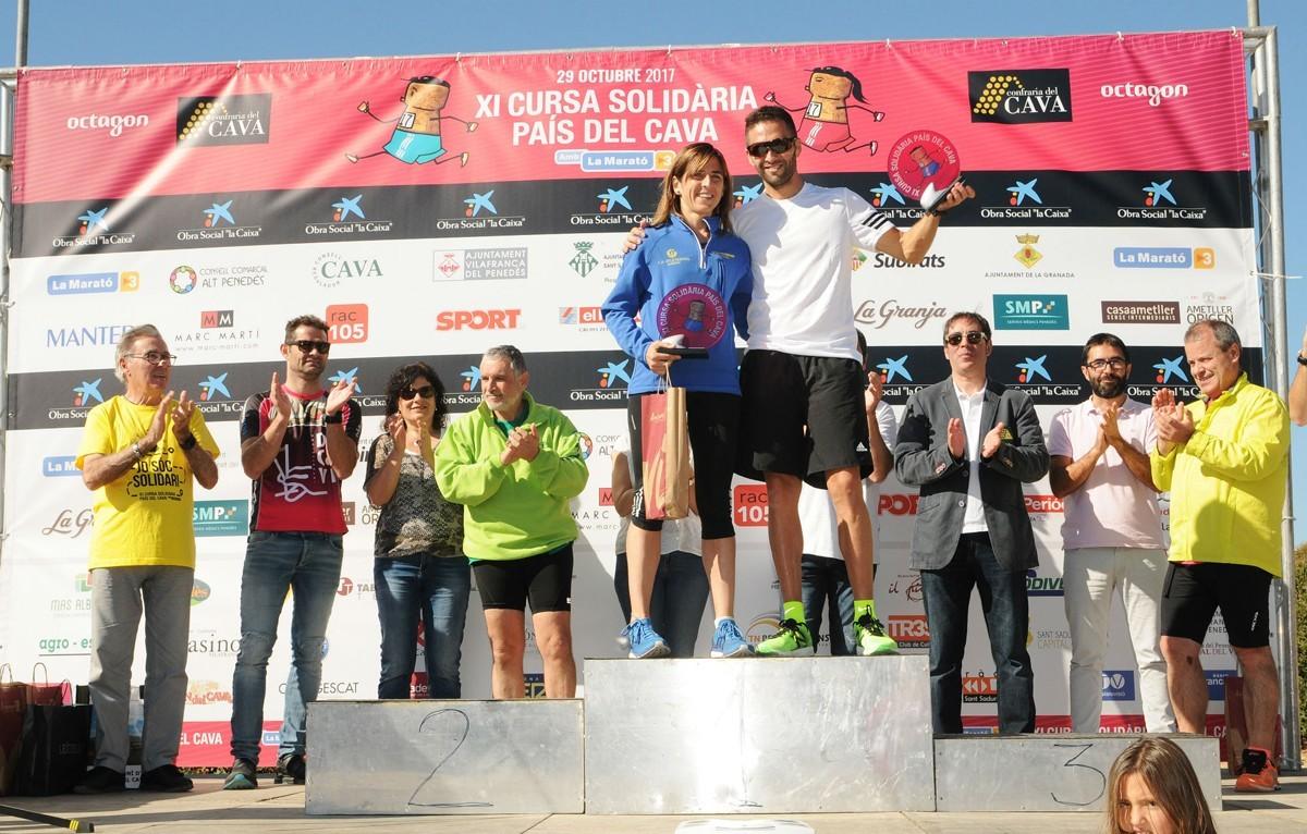 Guanyadors de l'edició de la cursa de l'any passat