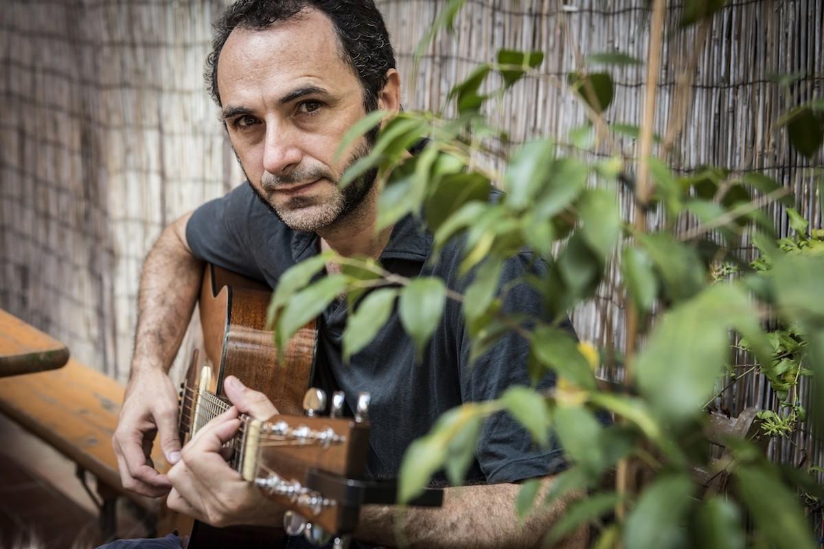 El cantautor formenterenc Caïm Riba