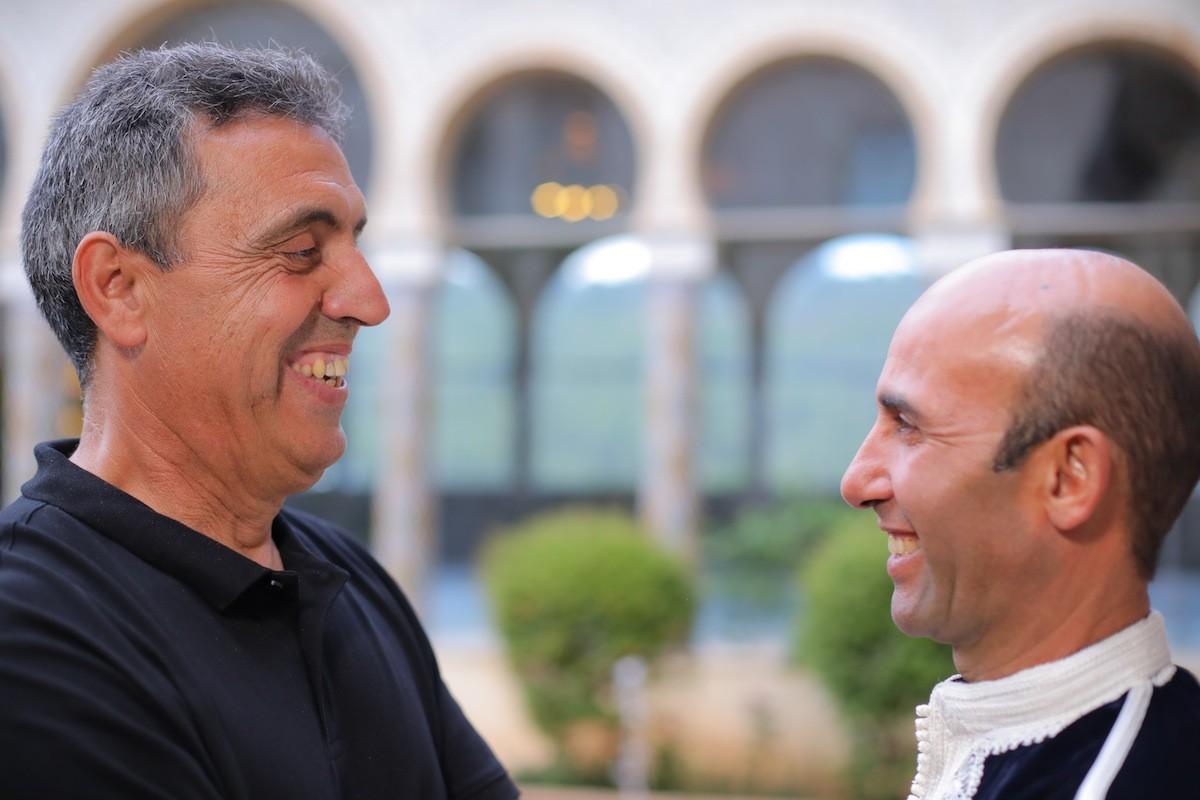 Pep Gimeno 'Botifarra' i Ahmed Touzani
