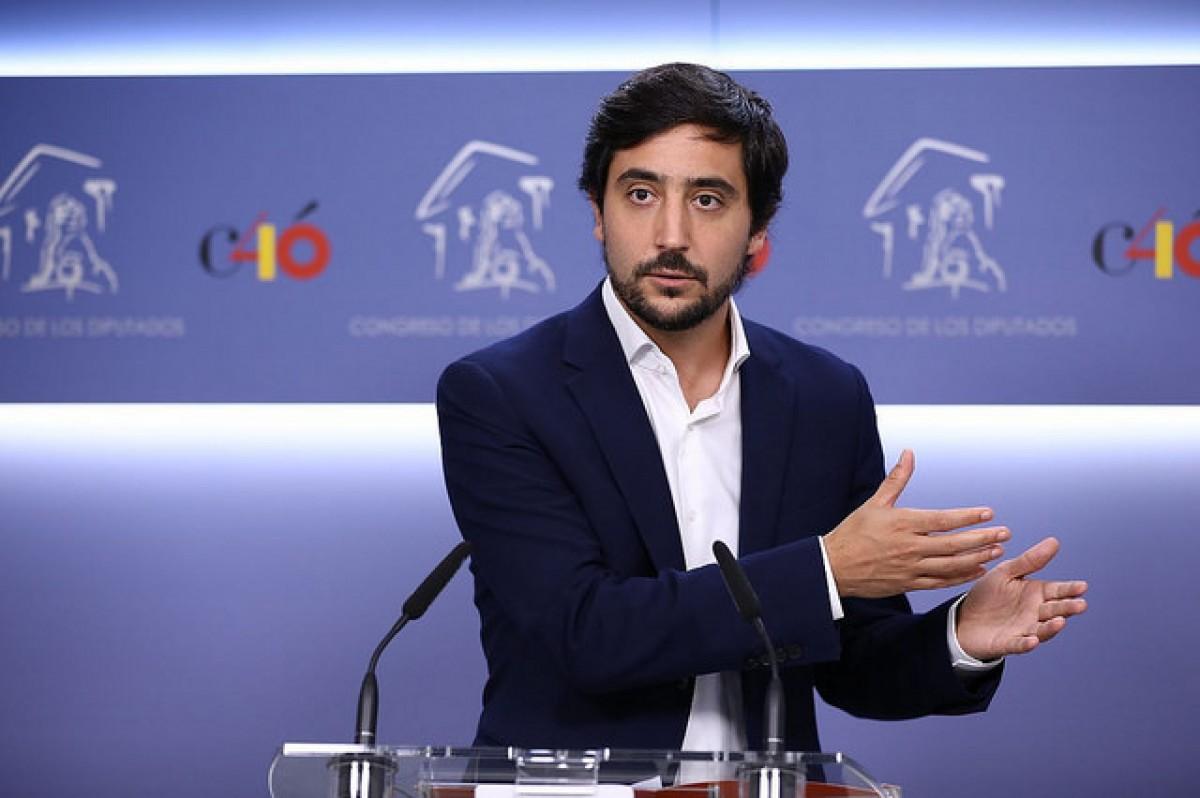 Toni Roldán, portaveu econòmic de Ciutadans, al Congrés dels Diputats