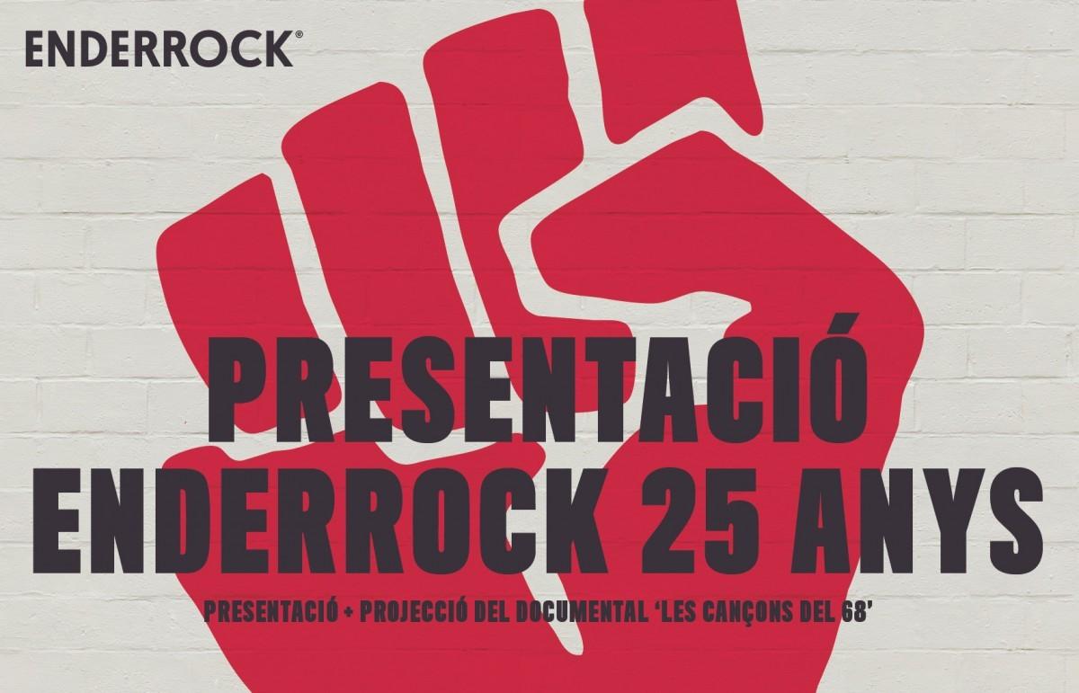 Presentació d'Enderrock 25 anys