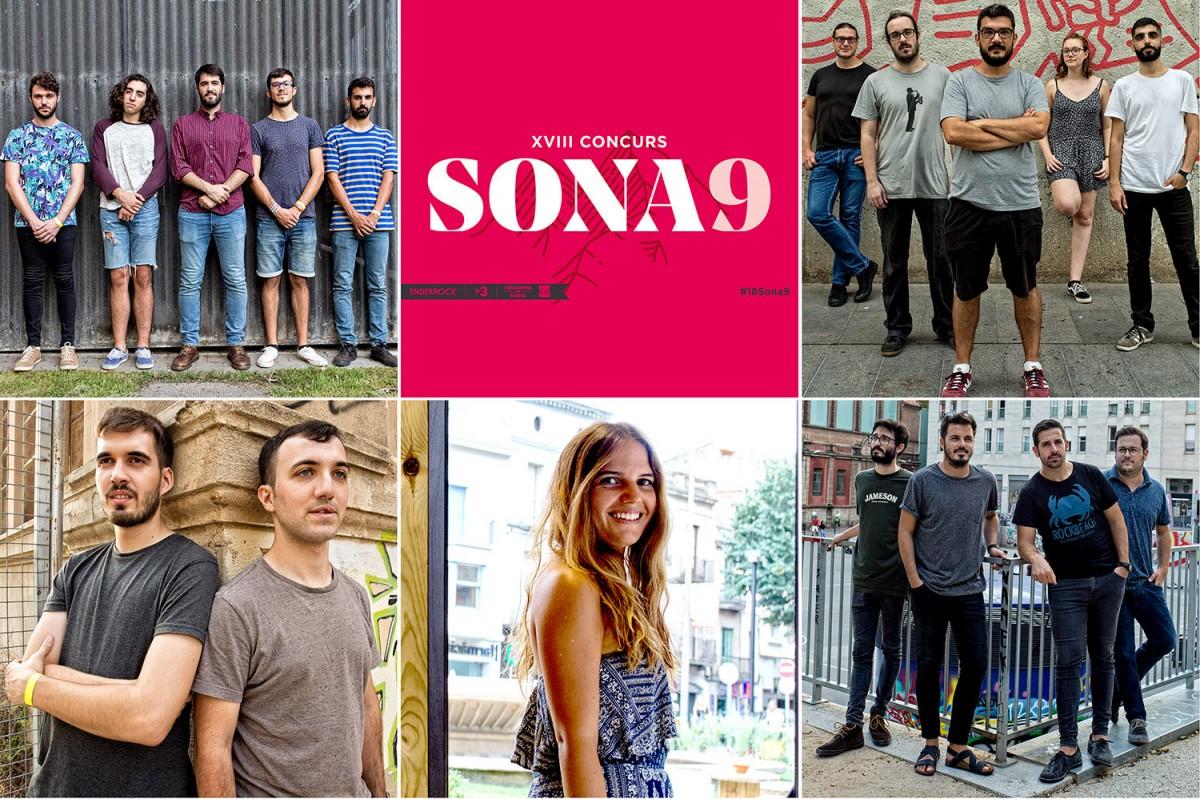 Finalistes del Sona9 2018