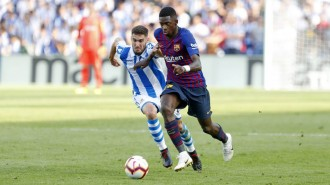 El Barça trenca el malefici d'Anoeta i guanya la Reial (1-2)
