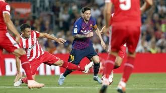 El VAR amarga l'empat entre el Barça i el Girona (2-2)