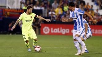 Un Barça irreconeixible punxa contra el Leganés (2-1)