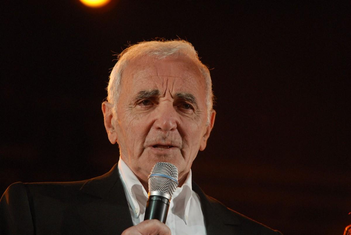 Charles Aznavour al festival Les Méditerranéennes de Leucate el 2008