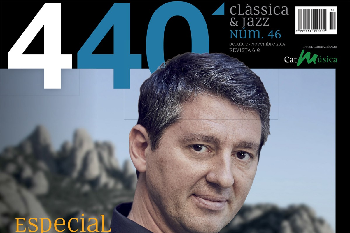 Portada de la revista '440Clàssica&Jazz' número 46