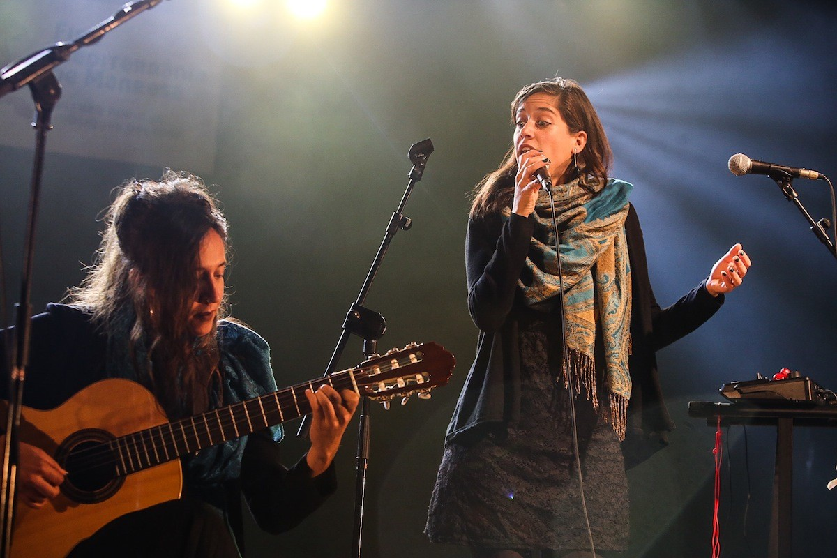 Clàudia Cabero i Sandra Monfort