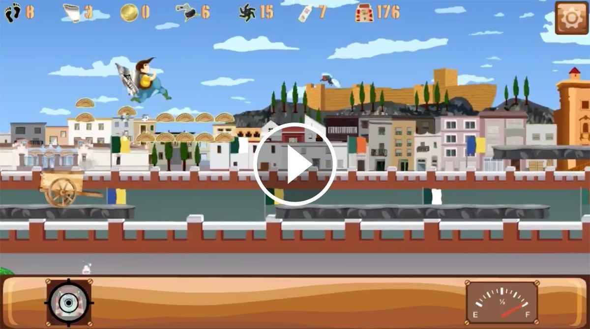 Belly Run al seu pas per Tortosa