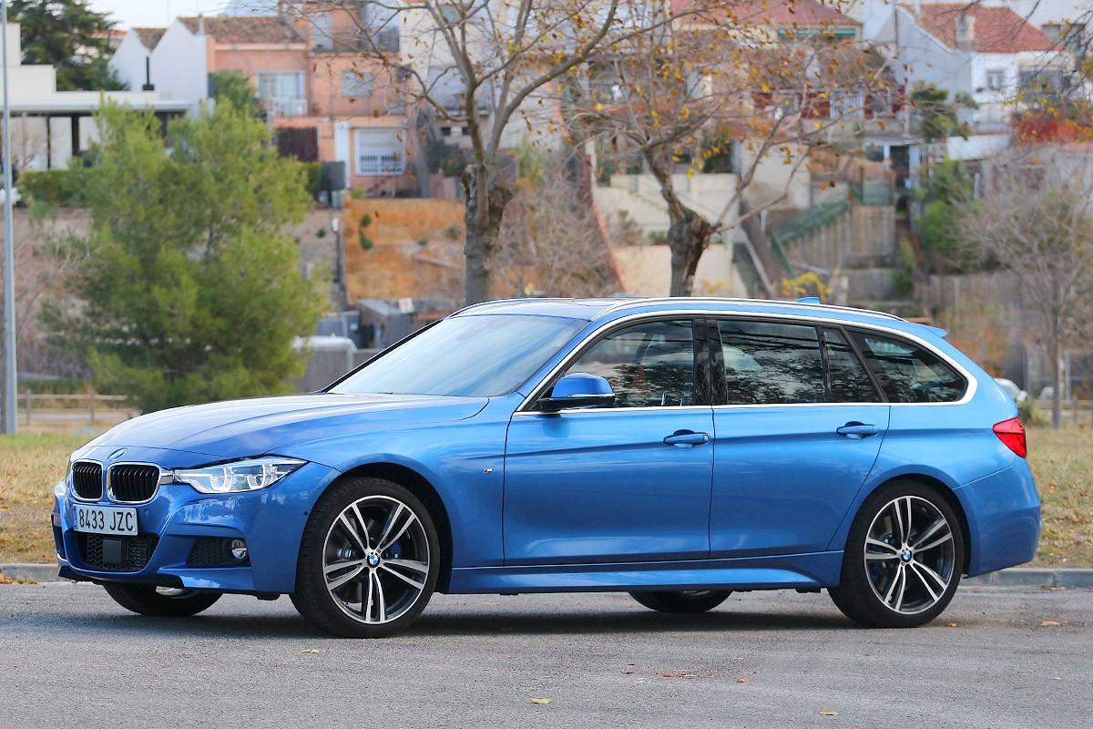 Tan versàtil com un SUV però molt més dinàmic. És el BMW 320d Touring xDrive