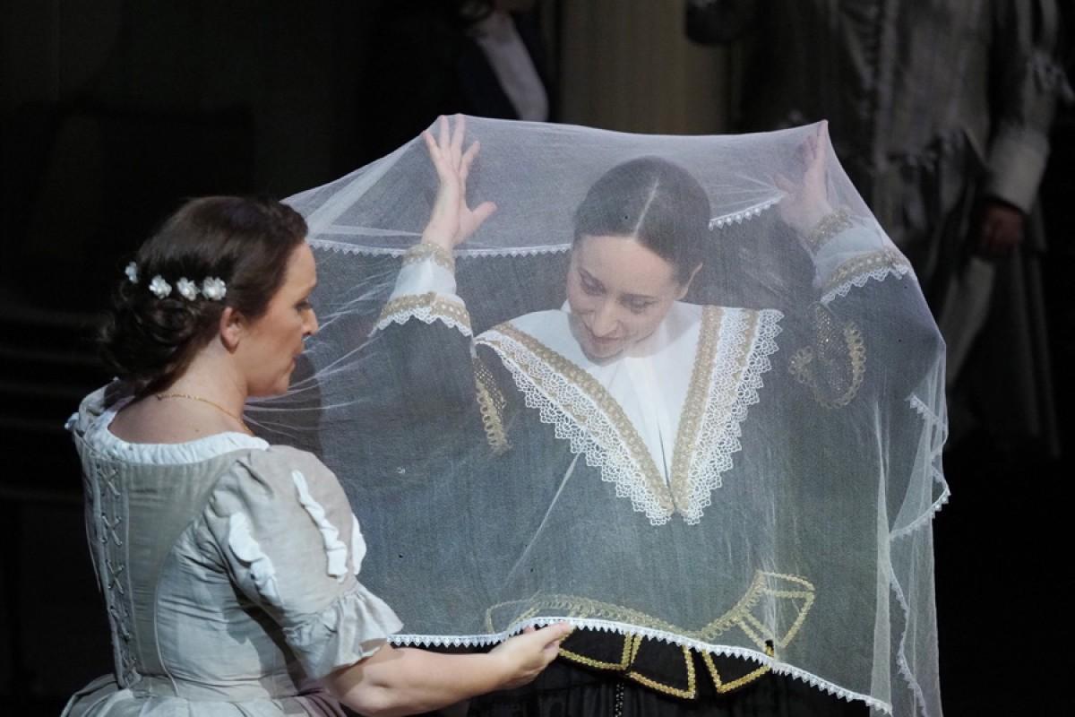 Representació d''I puritani' el 7 d'octubre al Liceu, en el segon repartiment