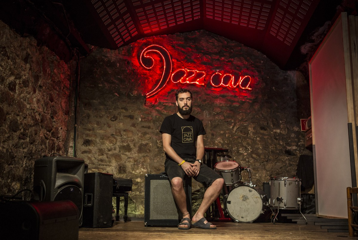 Jordi Casadesús a la Jazz Cava