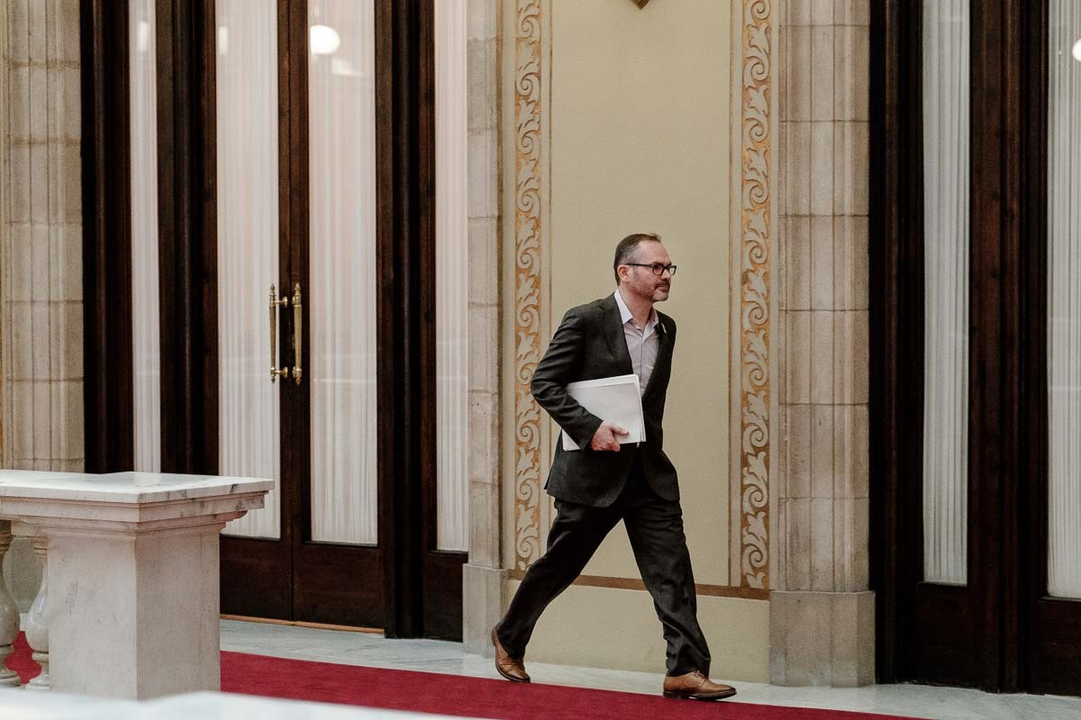 Josep Costa al Parlament