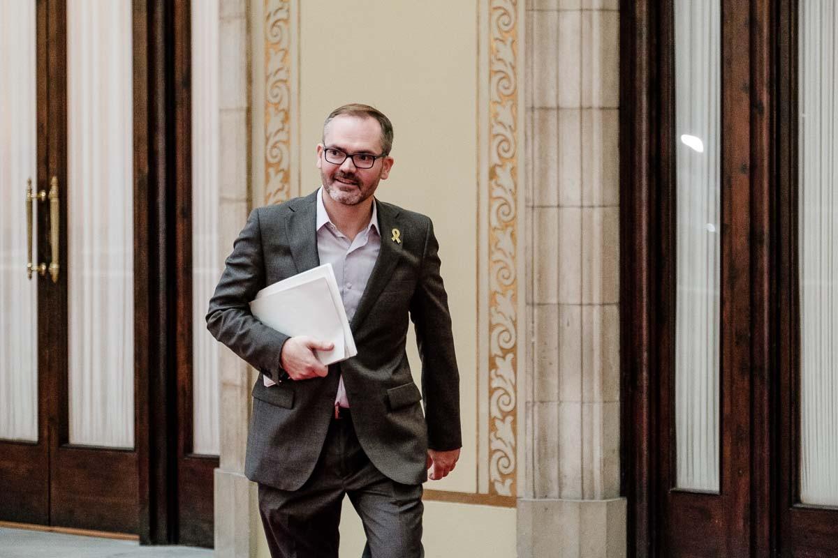 Josep Costa, vicepresident primer del Parlament i dirigent de JxCat.