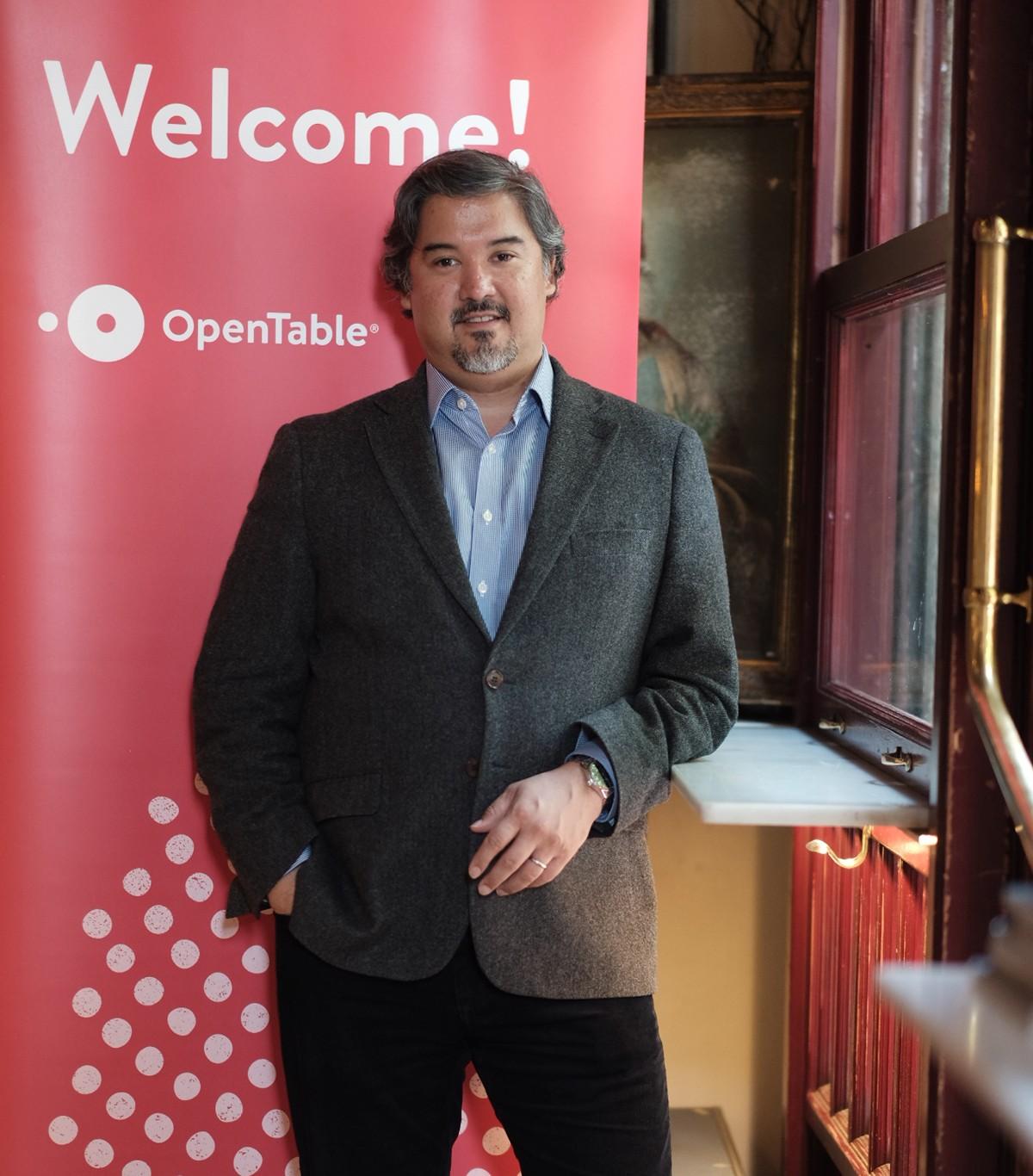 Adrian Valeriano, Vicepresident de Vendes i Serveis Globals d'OpenTable