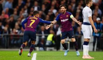 Messi lidera l'exhibició del Barça a Wembley (2-4)