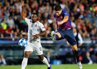 Un Barça molt sòlid se sobreposa a la baixa de Messi i brilla contra l'Inter (2-0)