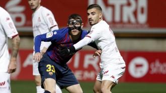 Un Barça rúfol evita el ridícul a última hora contra la Cultural Lleonesa (0-1)