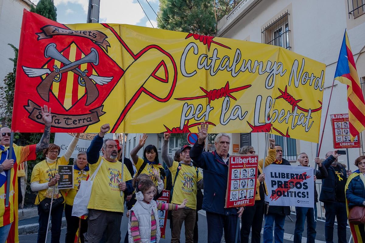 10.000 persones es manifesten a Perpinyà reivindicant els Països Catalans.