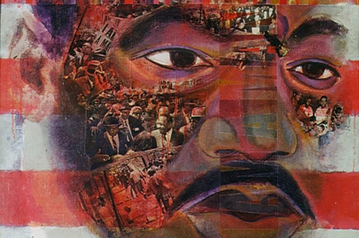Fragment de l'obra «I am a Man», 1968-1969