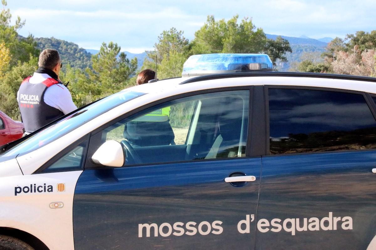 Imatge d'arxiu d'una patrulla de Mossos d'Esquadra.