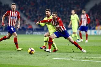 Dembélé salva el liderat al Metropolitano (1-1)