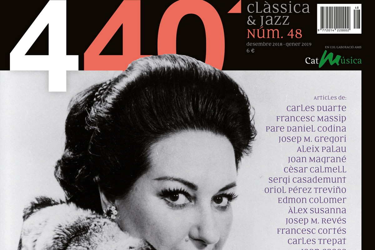 Portada de '440Clàssica&Jazz' núm. 48