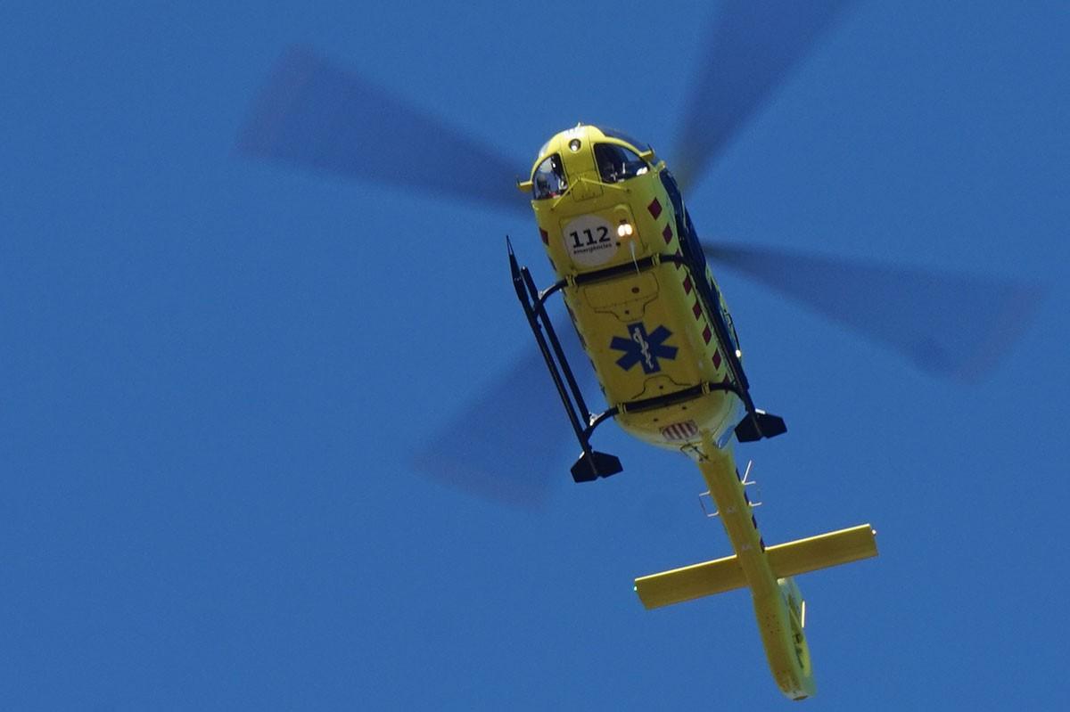 Els ferits han estat evacuats en dos helicòpters.
