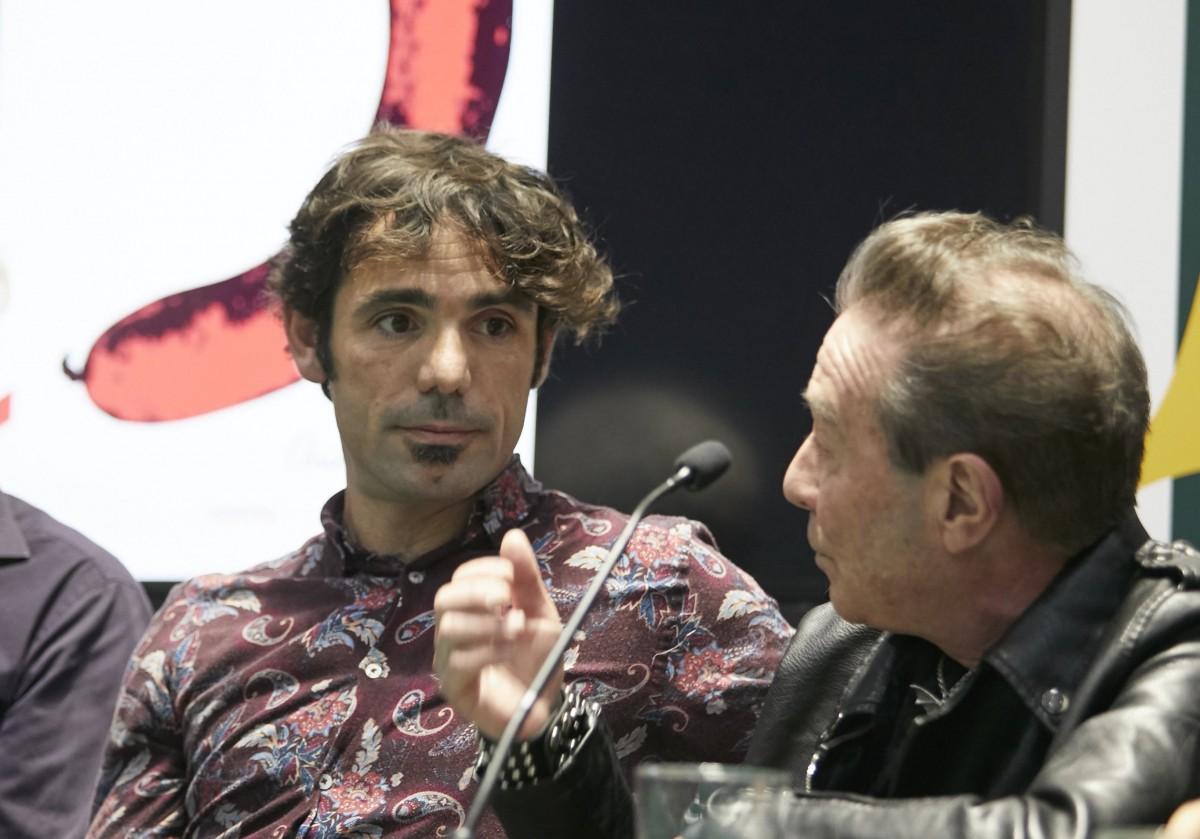 Oriol Rodríguez a la presentació de 'Tocats de l'ala'