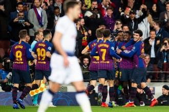El Barça tanca la fase de grups de la Champions amb un empat amb el Tottenham (1-1)