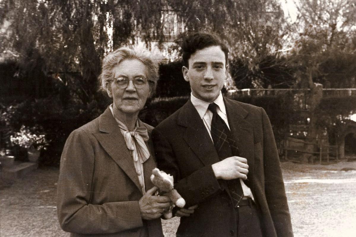 Nadia Boulanger i Narcís Bonet, el 1953 a Barcelona