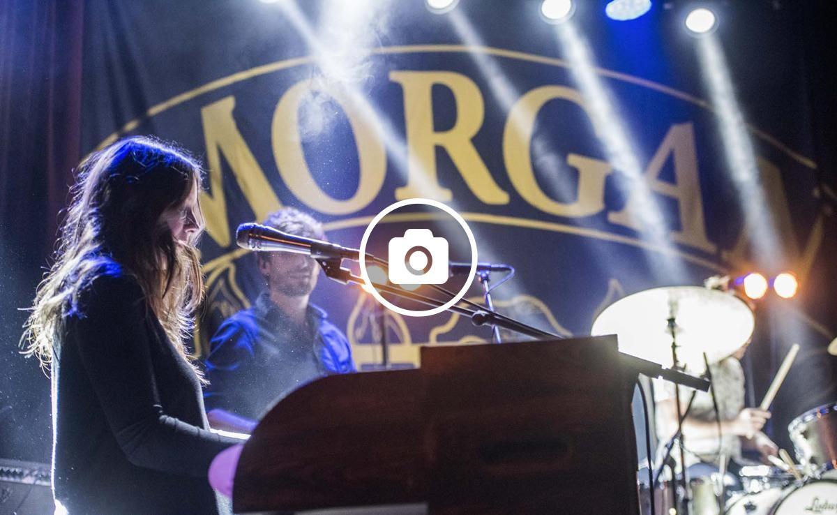 Morgan en concert