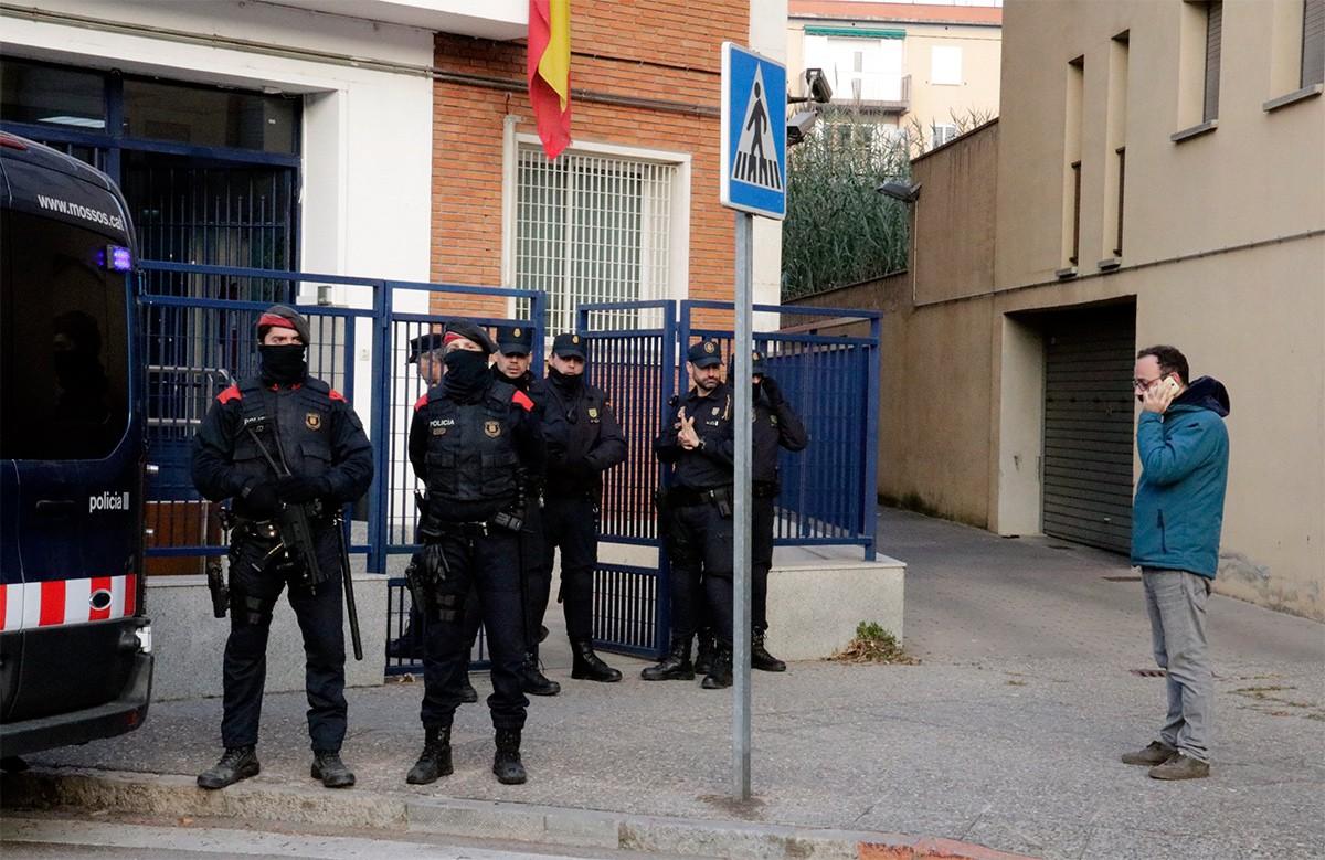 La comissaria de la policia espanyola Girona.