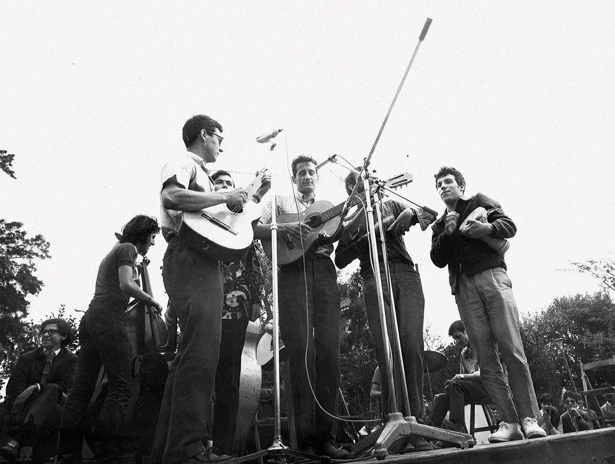 El Grup de Folk l'any 1968
