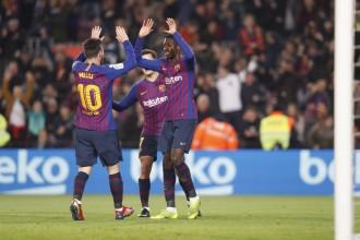 Els pesos pesants del Barça executen el pas als quarts de la Copa del Rei (3-0)