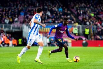 Messi es posa el Barça a l'esquena i sentència el Leganés en vint minuts (3-1)