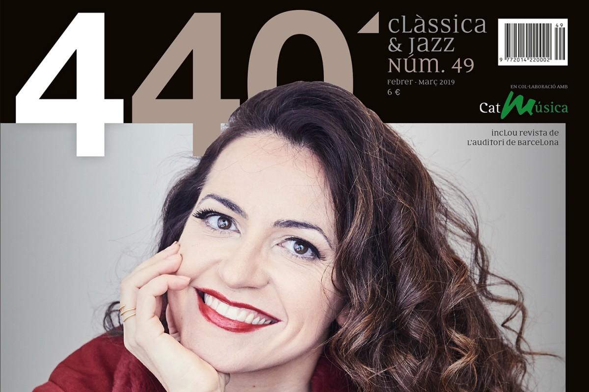 Portada de la revista 440Clàssica&Jazz 49