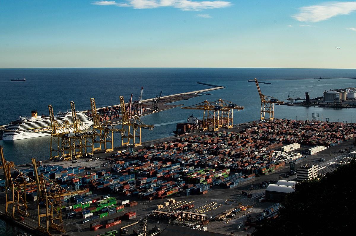 El Port de Barcelona és la porta del comerç a la Mediterrània