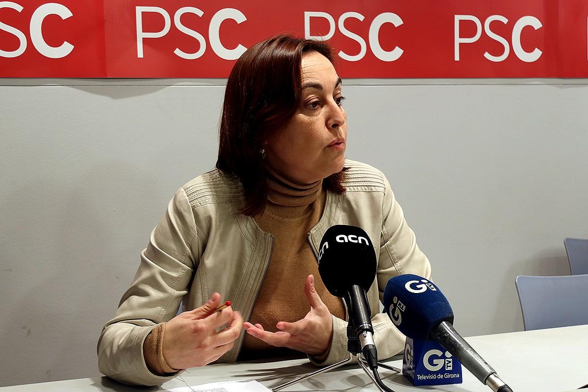 La dioutada socialista Sílvia Paneque.