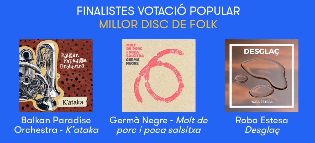 Nominats a Millor disc de folk del 2018