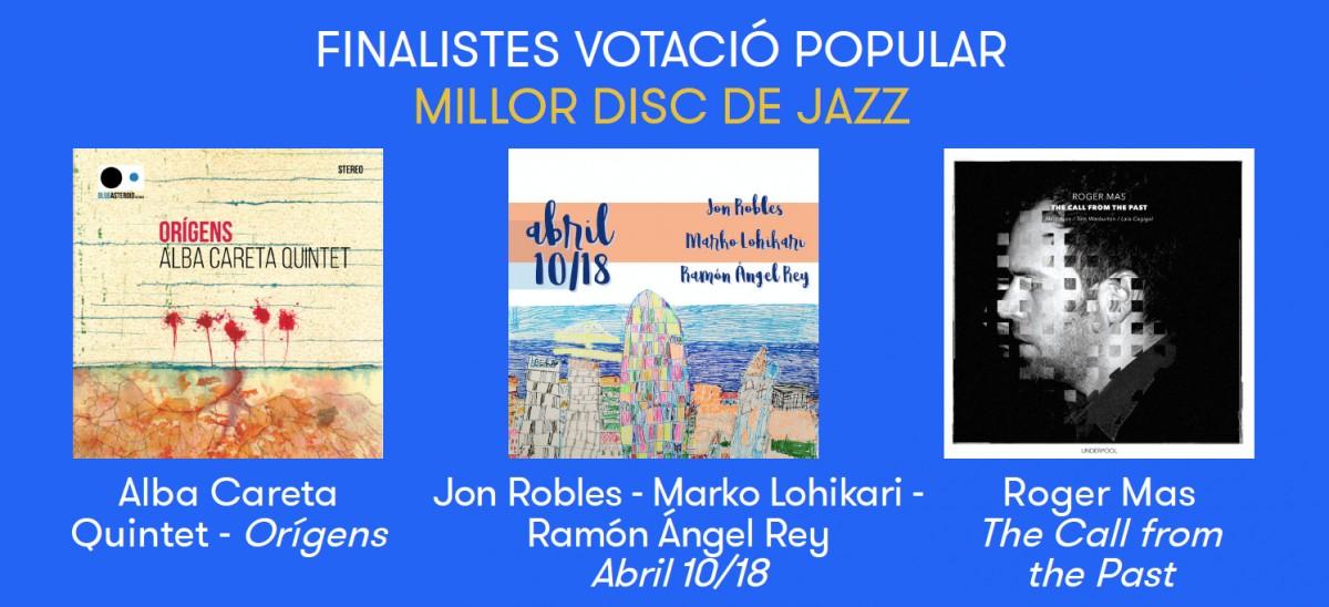 Nominats a Millor disc de jazz del 2018