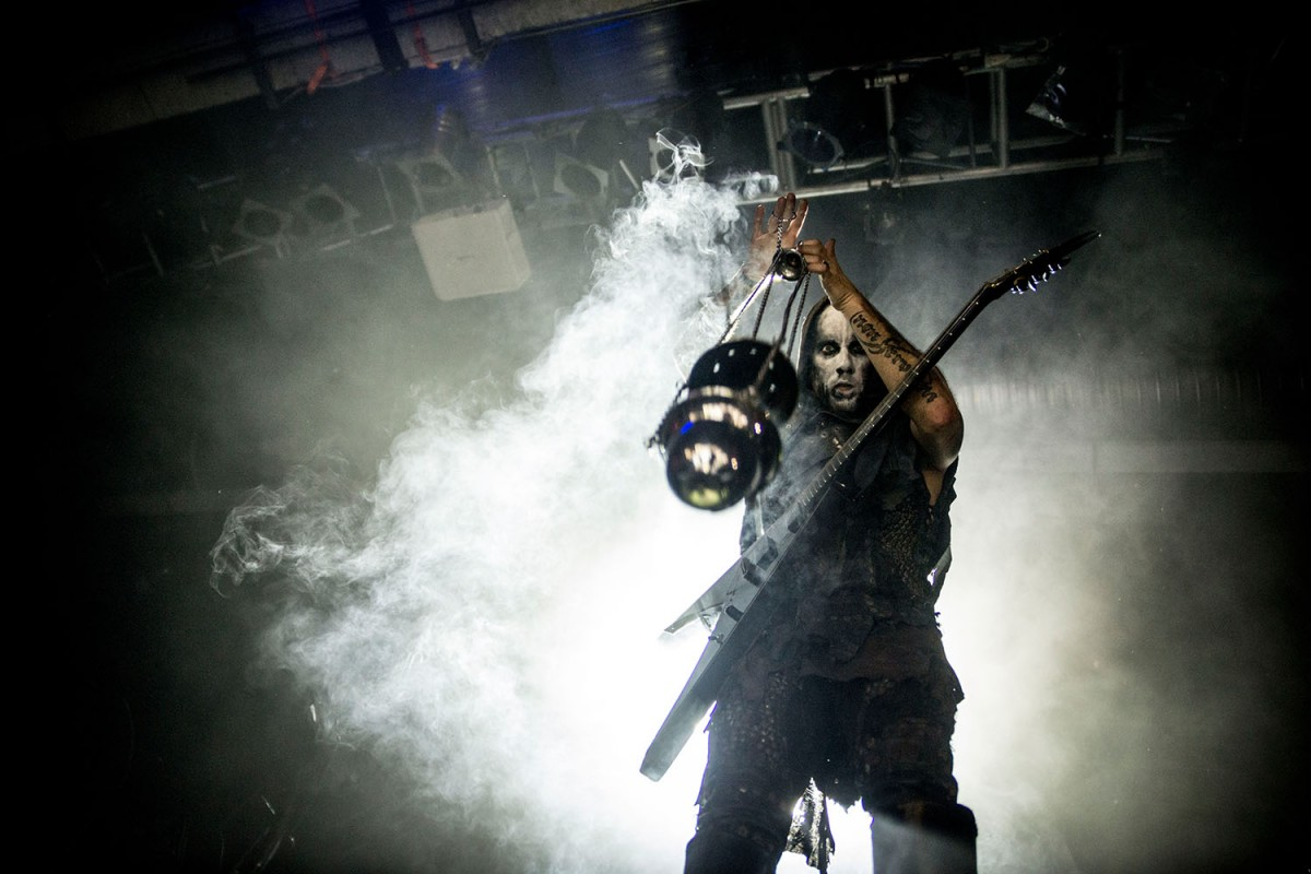 La banda polonesa Behemoth
