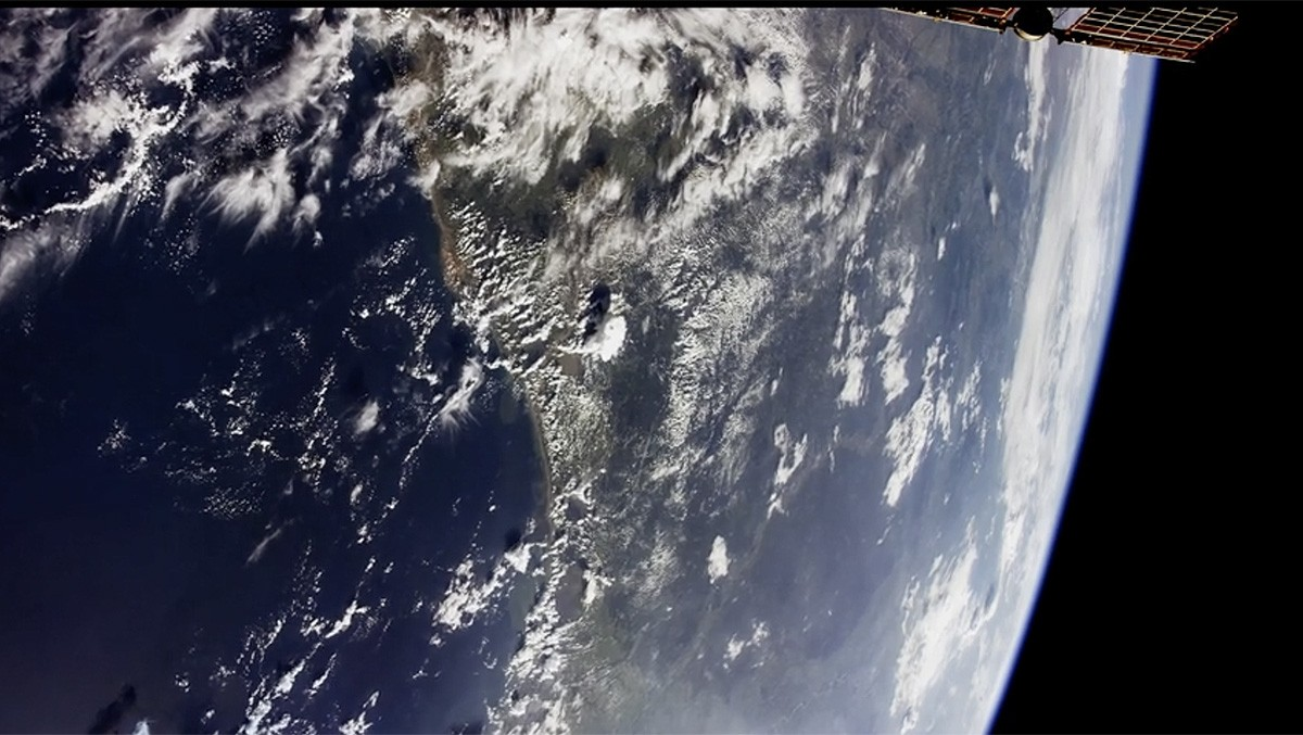 Una de les seqüències del vídeo.