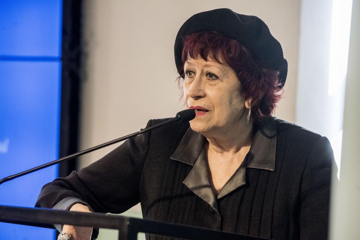 Pilar Aymerich, una de les guanyadores del Premi Estrella