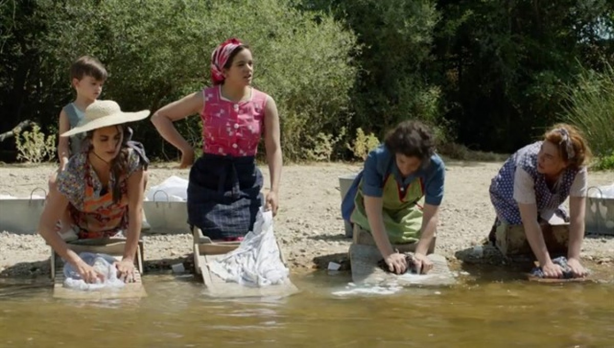 Rosalía, en un dels moments de la pel·lícula