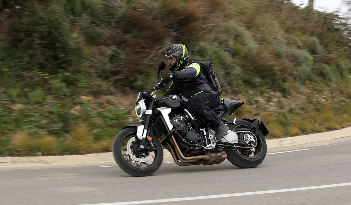 La Honda CB1000R no és només una  moto per lluir