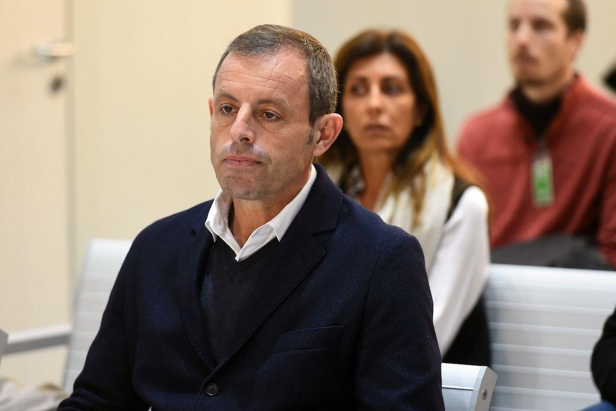 Sandro Rosell, a l'Audiència Nacional