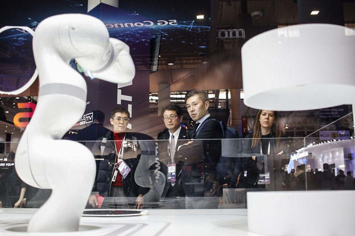 El Mobile World Congress del 2019 va superar el rècord de visitants.