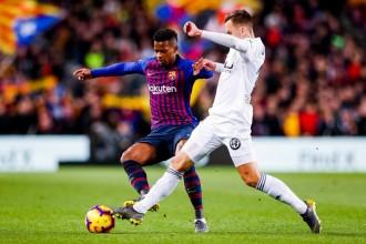 Un Barça agredolç empata contra el València tot i el doblet de Messi (2-2)