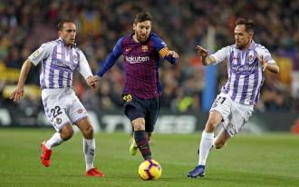 El Barça compleix amb grisor i guanya al Valladolid (1-0)